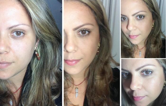 rotina diária de maquiagem