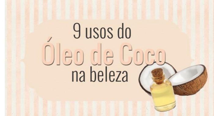Óleo de Coco no Cabelo e na Pele