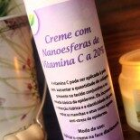 """Creme com Vitamina C Art Vitta: Amor """"Das Antigas"""""""