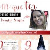 Top 10 da Leitora – Danúbia Bomfim