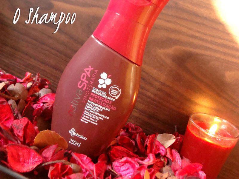 shampoo desamarelador vinoterapia nativa spa o boticário