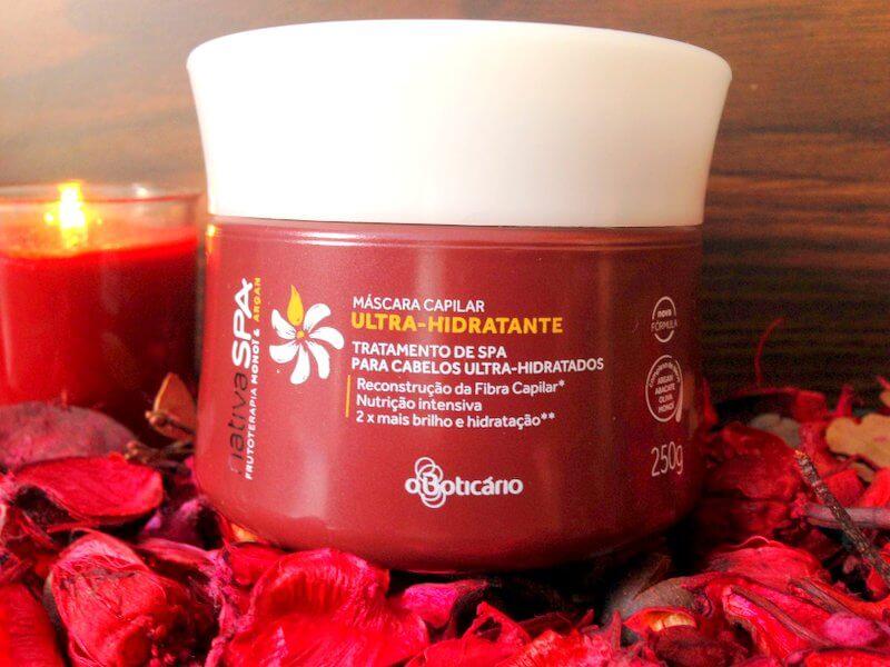 Máscara Capilar Ultra-Hidratante Monoi & Argan Nativa SPA - O Boticário