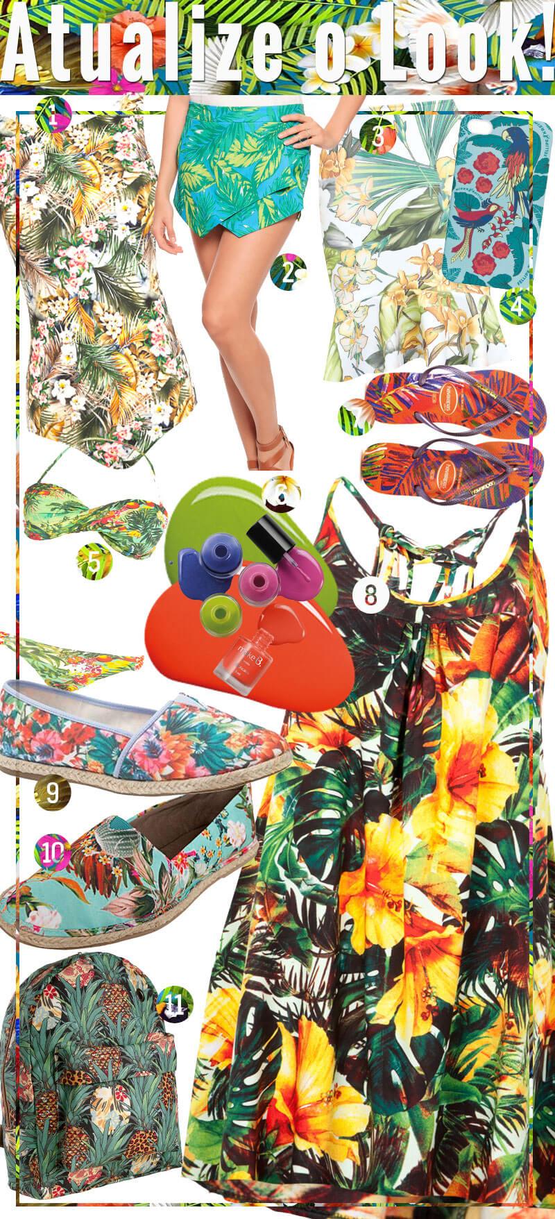 tendência tropical verão 2015