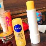 Protetor Labial Puro & Natural Mel e Leite – Nivea
