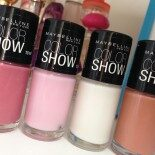 Esmaltes Color Show: As Novas (e Lindas!) Cores da Maybelline!