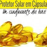 Proteção Solar em Cápsulas: É Tudo de Bom!