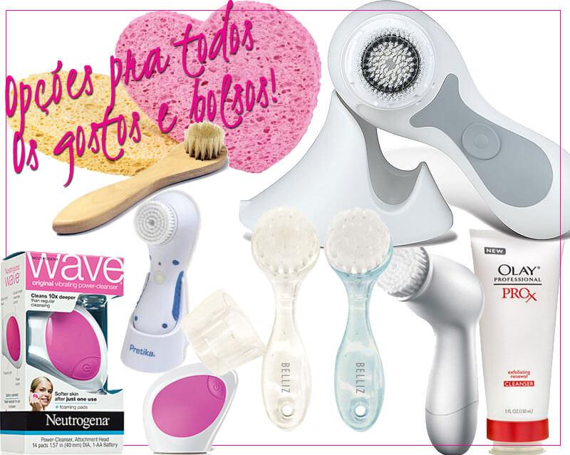 escova facial