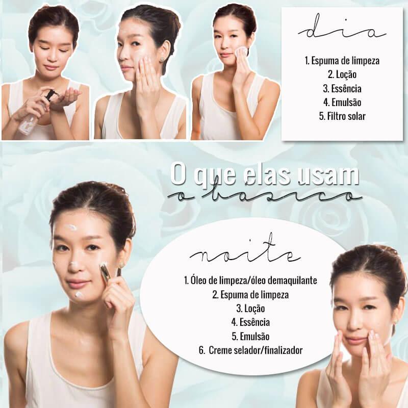 ritual de beleza das asiáticas