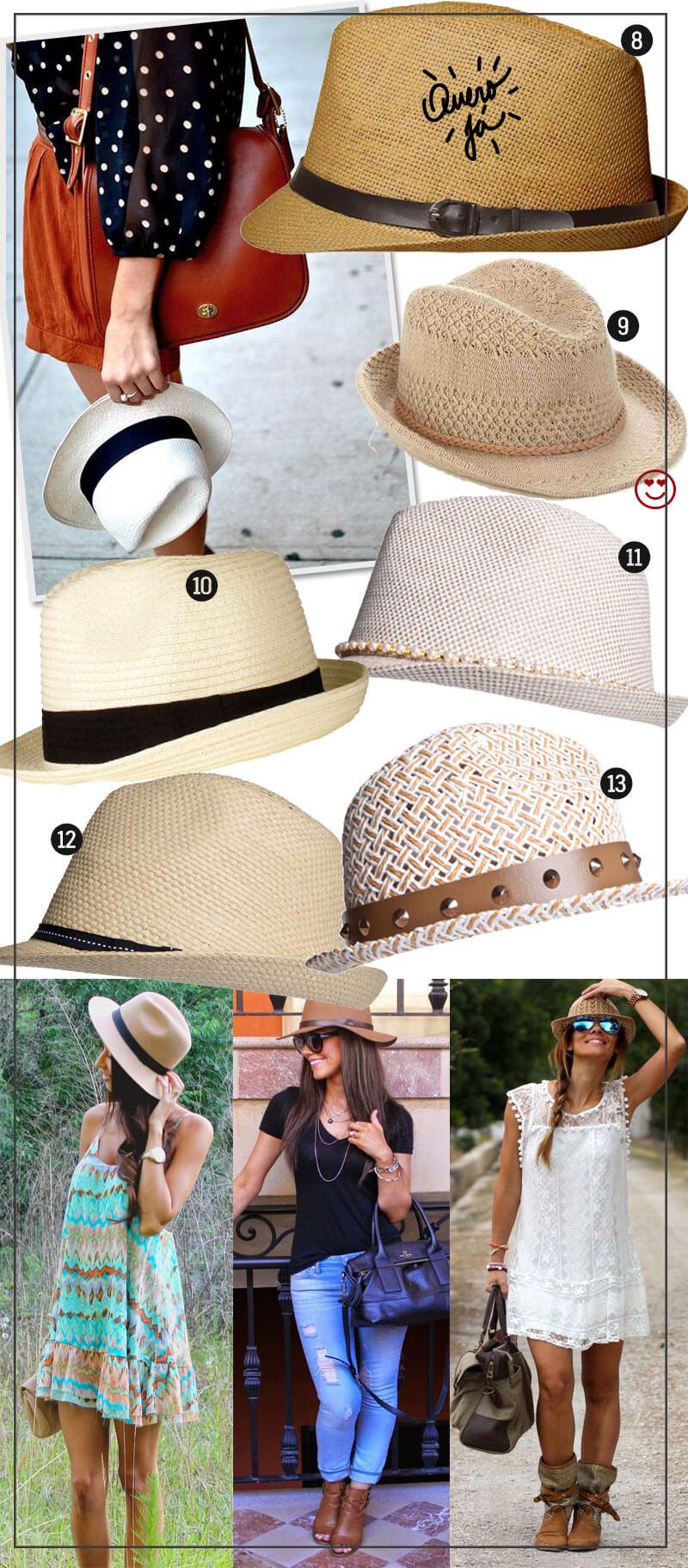 como usar chapéu