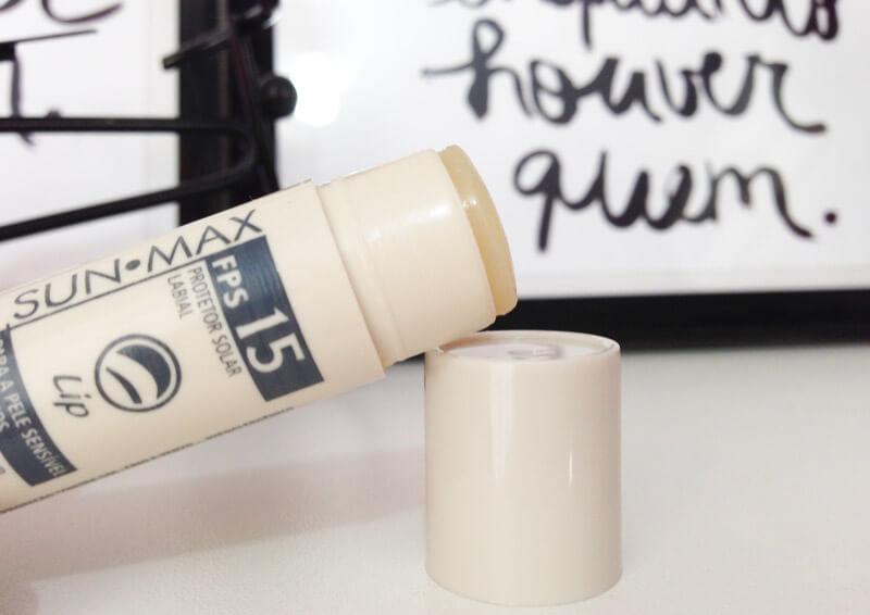 sunmax lip protetor solar labial