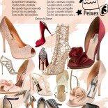 Sapatos da Mulher de Peixes