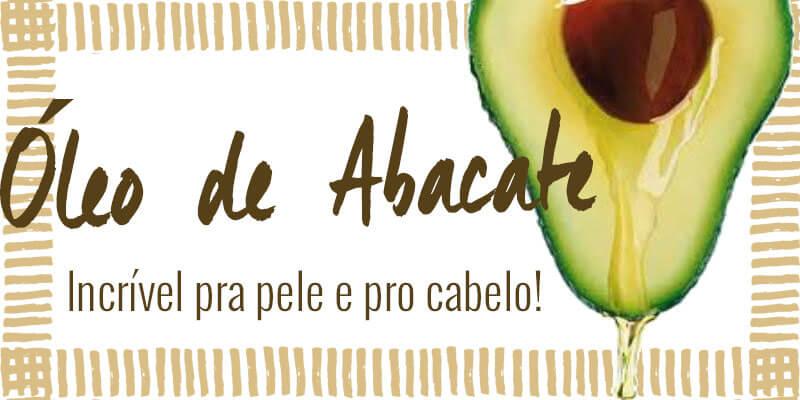 oleo de abacate