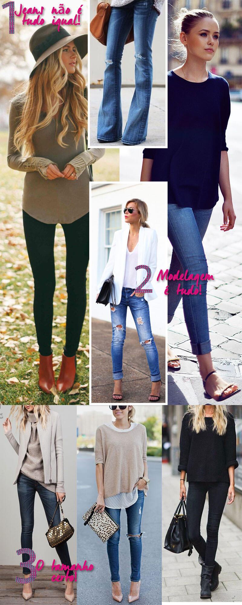 556646b69c Calça Jeans  3 Dicas Pra Escolher o Jeans Perfeito! - Juro Valendo