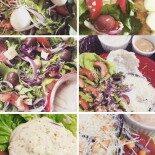 Diário da Dieta: Saladinhas e Jacadas