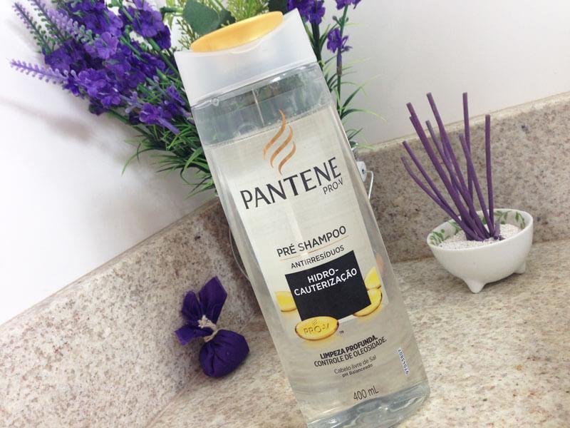 pré shampoo antirresíduos pantene