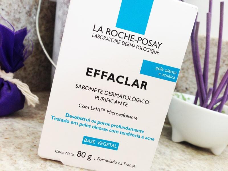 Effaclar Sabonete Dermatológico Purificante La Roche Posay para peles oleosas