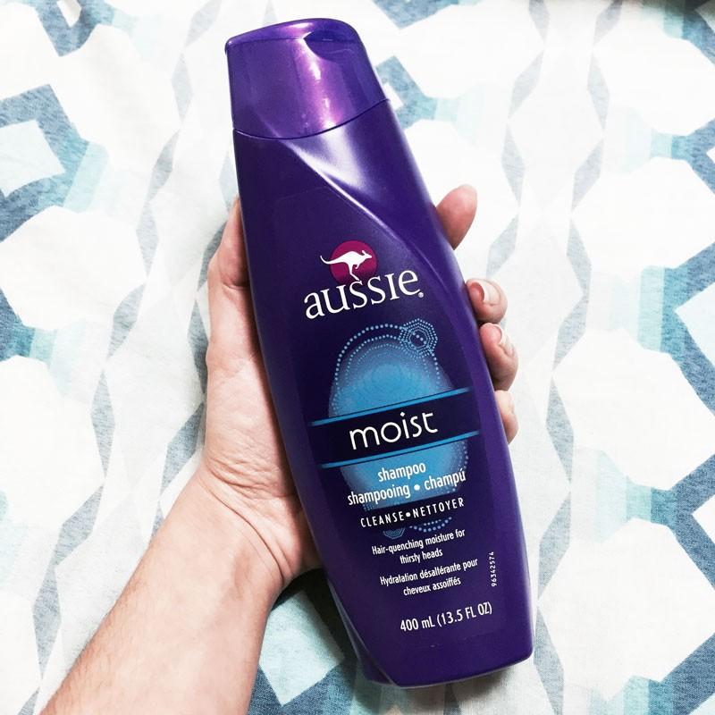 shampoo moist aussie