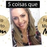 Vídeo: 5 Coisas que Faço Muito Bem e Muito Mal!
