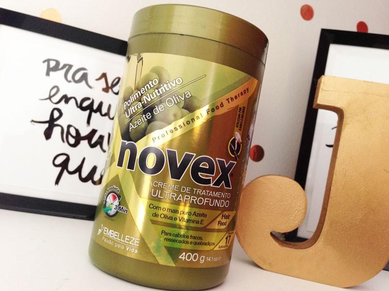 Polimento Ultra-Nutritivo Azeite de Oliva Novex