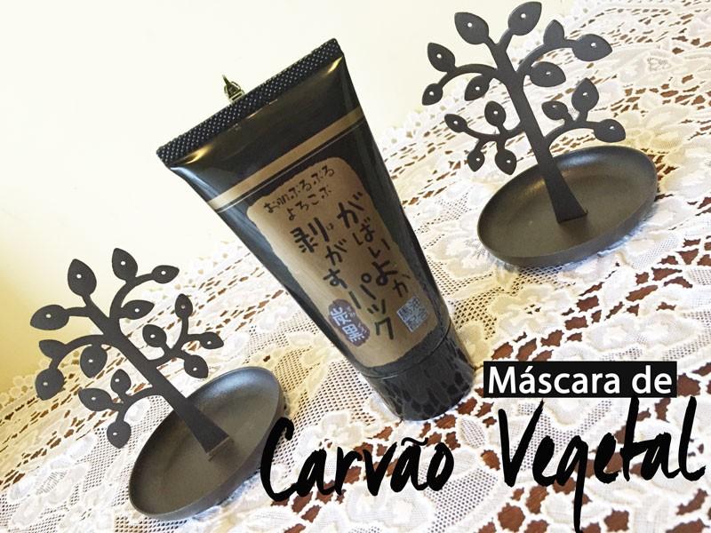Máscara de Carvão Vegetal: Para Limpeza Profunda da Pele!