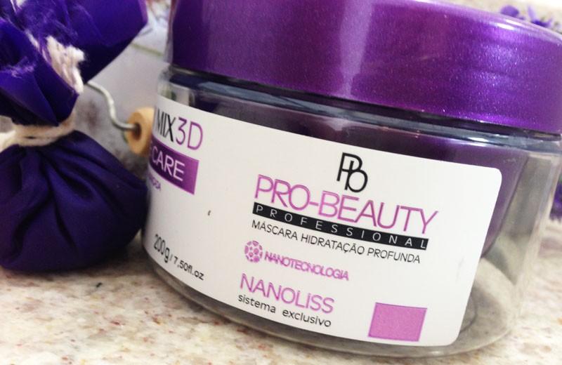 Máscara Hidratação Profunda Luminy Mix 3D Pro-Beauty