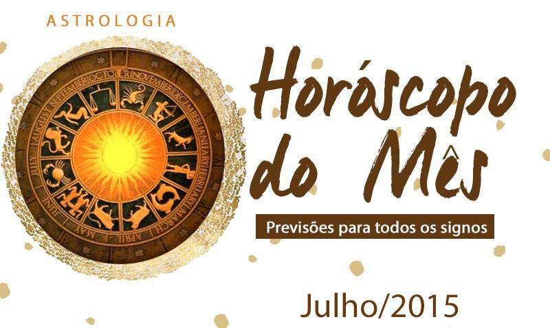 horóscopo de julho de 2015