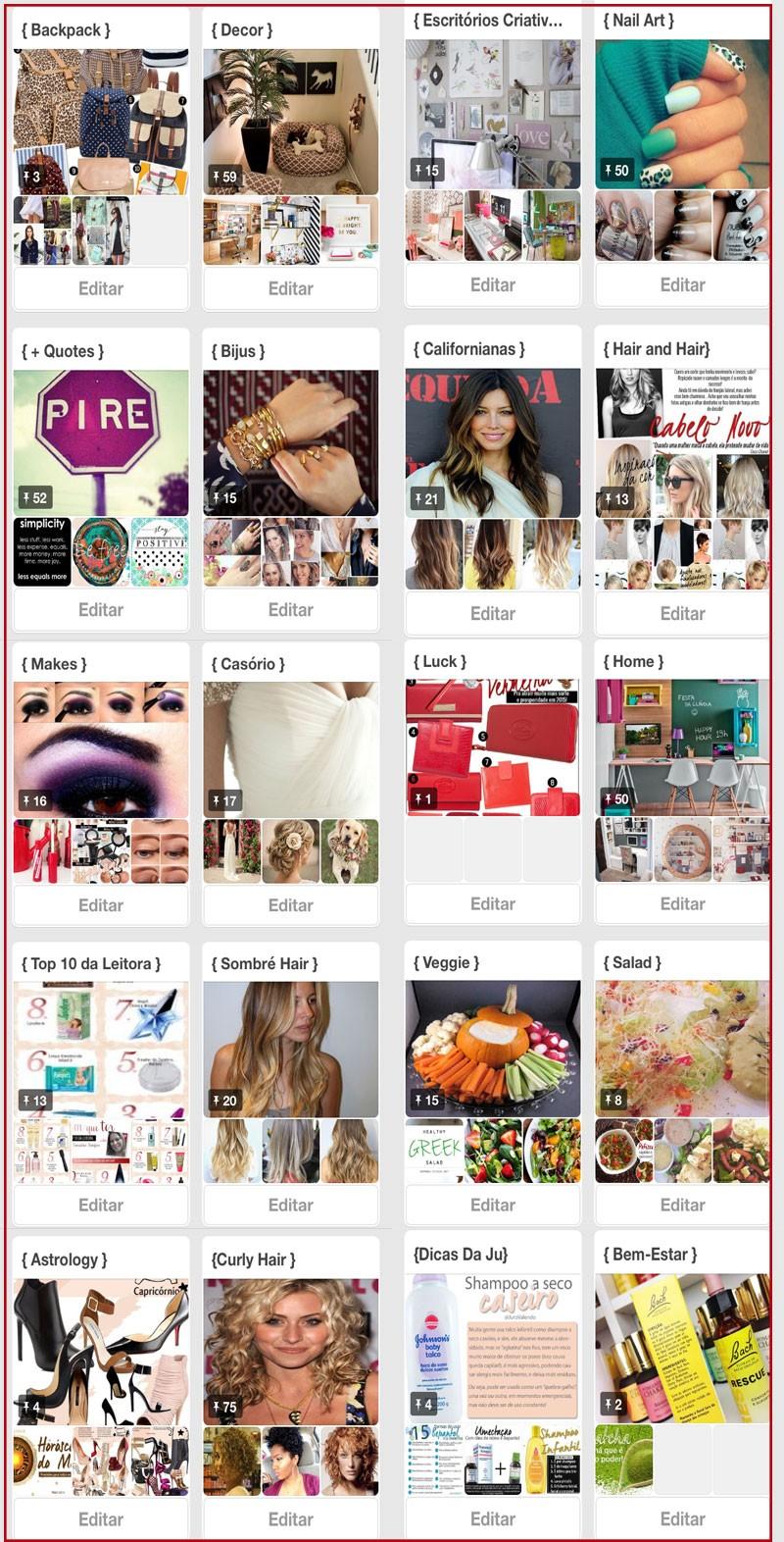 Pinterest como usar