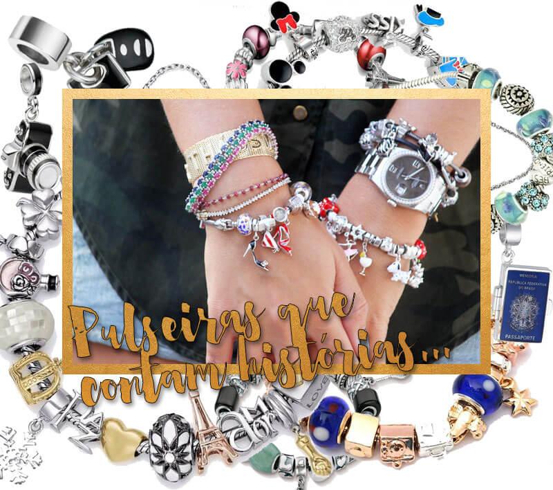 pulseiras de berloques