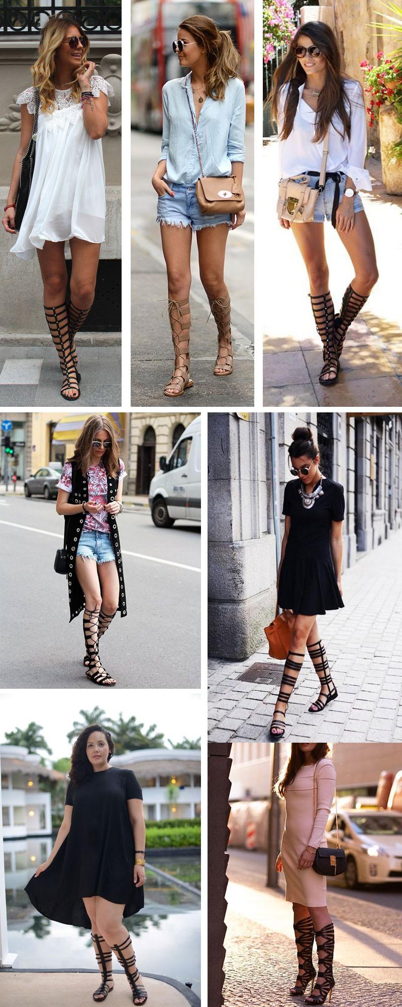 comprar sandália gladiadora