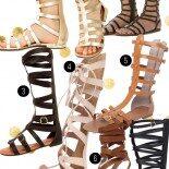 Achados de Fast Fashion: Sandália Gladiadora