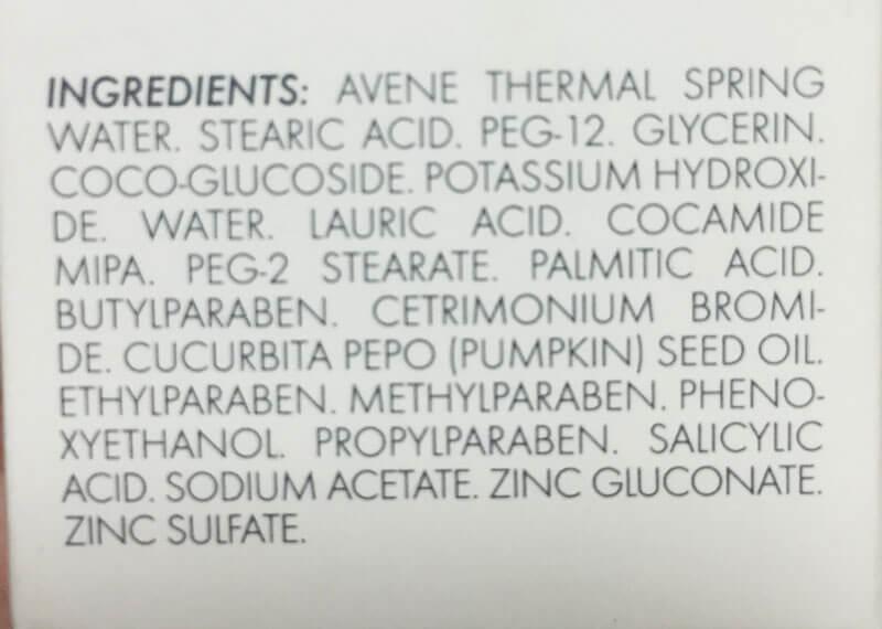 Crème Nettoyante Purifiante Oil Control Foam - Avène