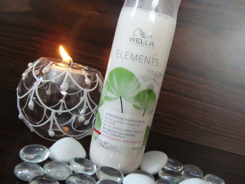 Spray Condicionador Leave-In Elements Wella