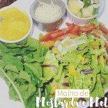 Molho de Mostarda e Mel Para Saladas e Grelhados