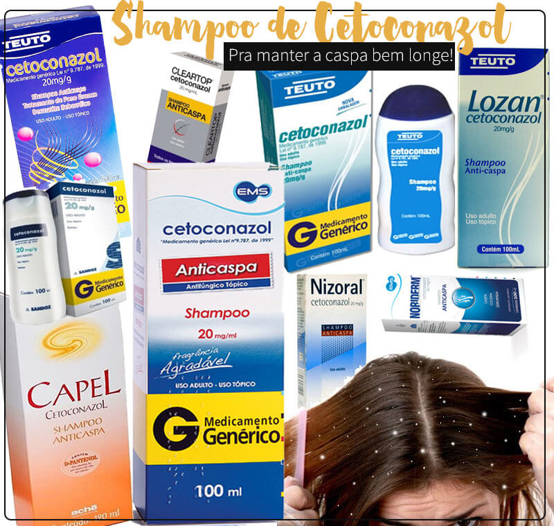shampoo cetoconazol caspa