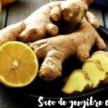 Suco de limão com gengibre: pra ajudar a emagrecer