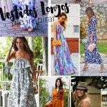 Vestidos Longos: Achados de Fast Fashion