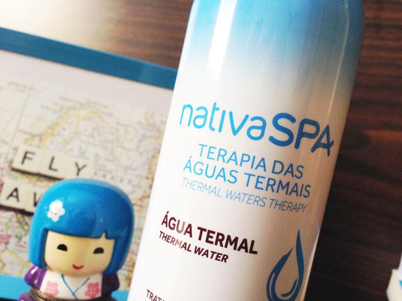 água termal boticário