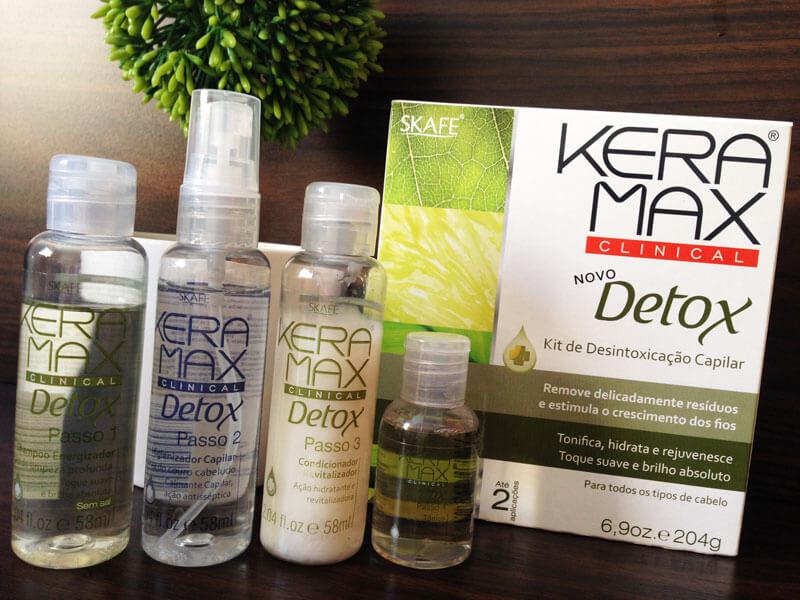 Kit de Desintoxicação Capilar da Keramax