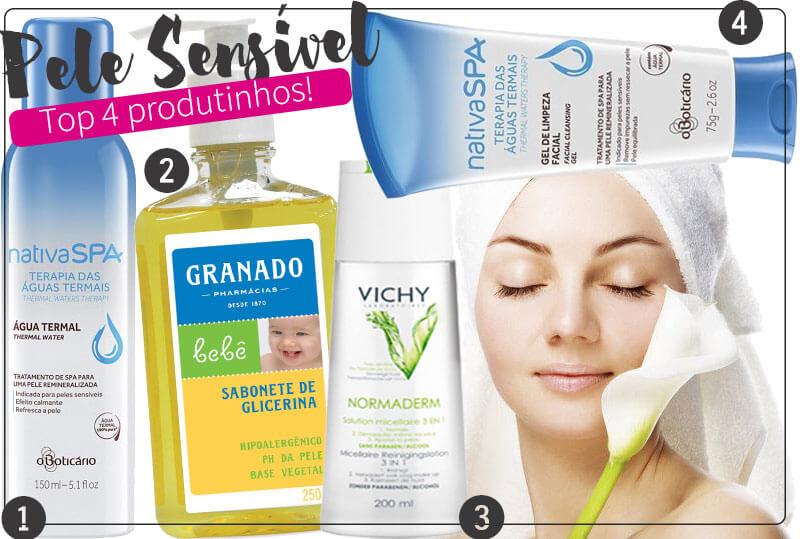 pele sensível