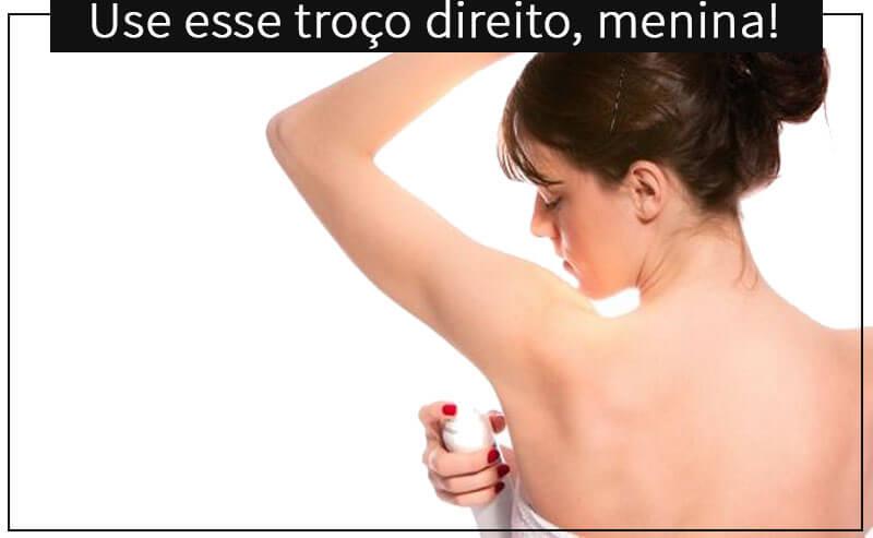desodorante o guia completo