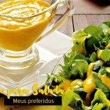 Molho Para Salada: Meu Top 10!