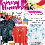 Quereres de Novembro: Um Tiquinho de Cada Coisa!