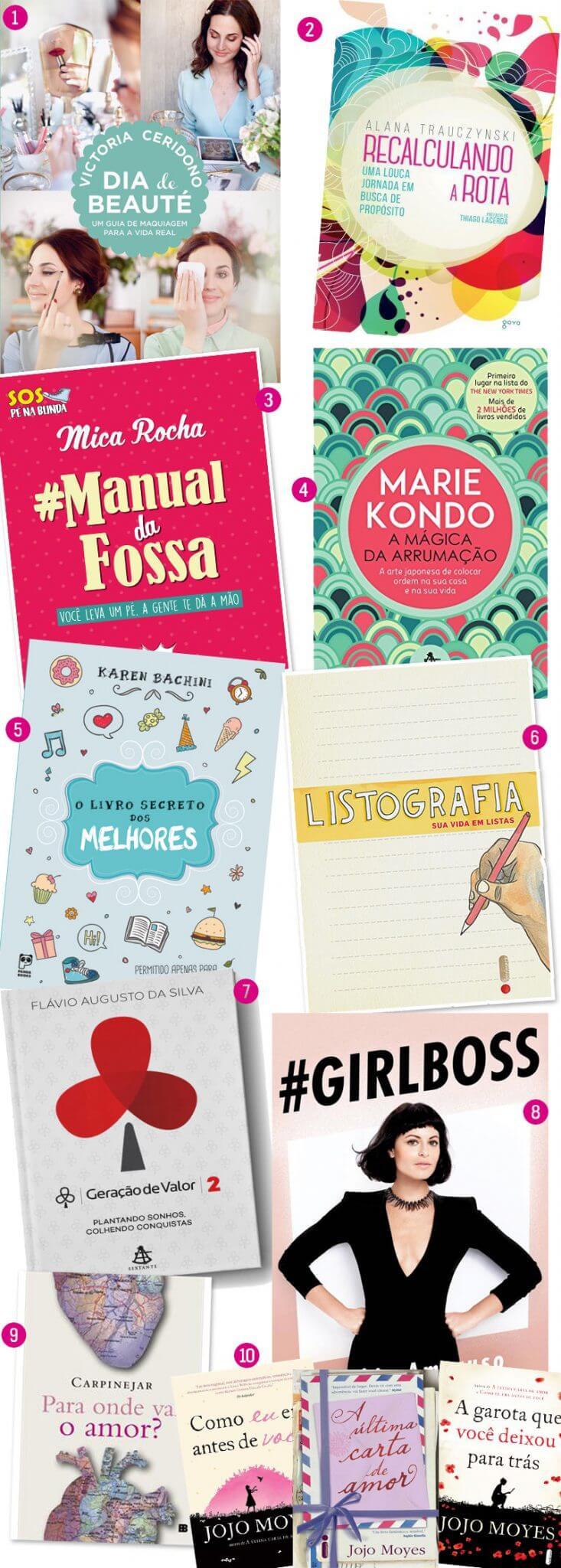 10 livros para presentear no natal
