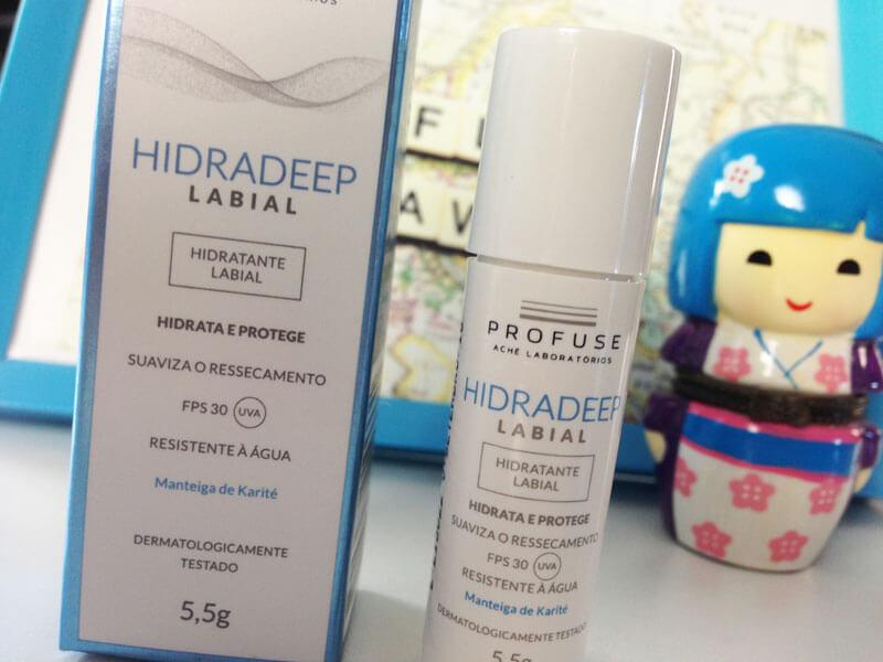 Hidradeep Hidratante Labial FPS 30 Profuse