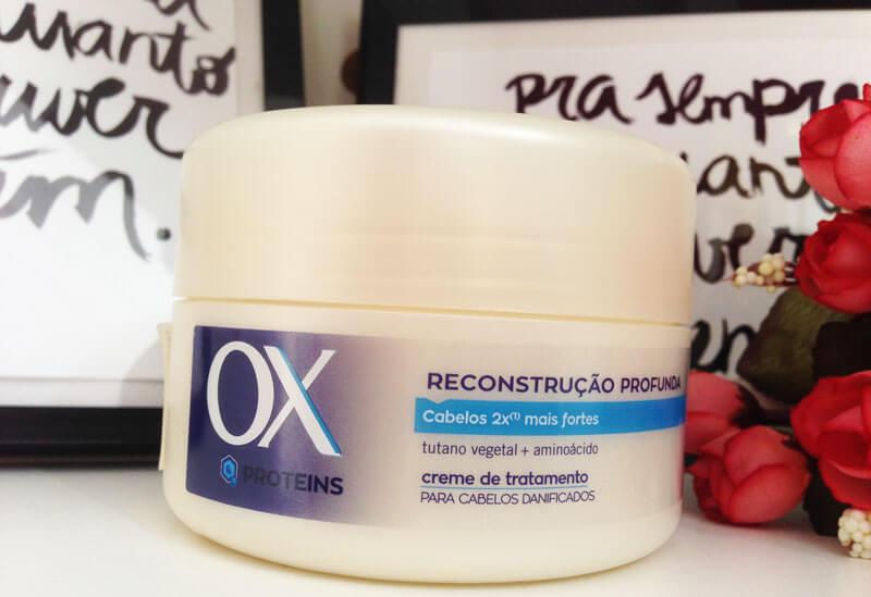 Máscara de Reconstrução Profunda Ox Proteins