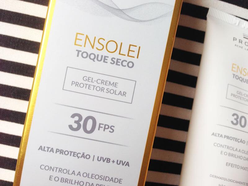 Protetor Solar Ensolei Toque Seco FPS 30 Profuse