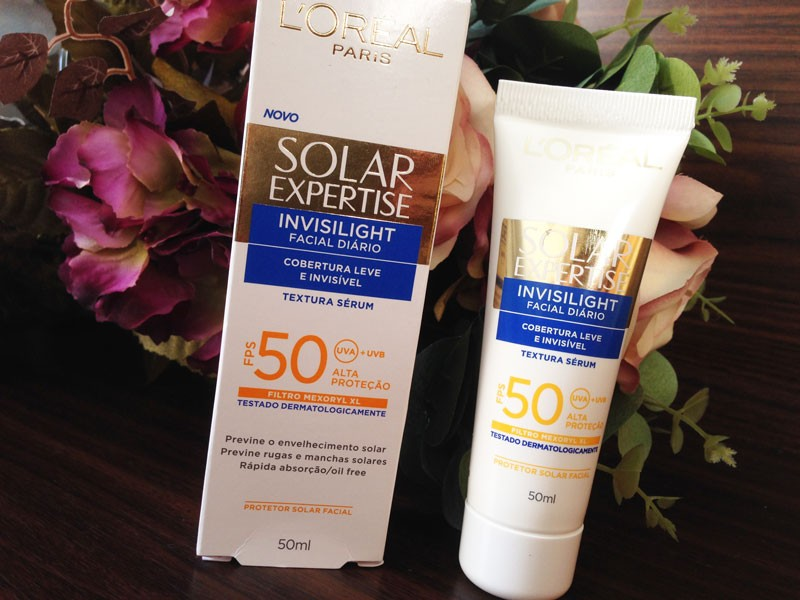 Protetor Solar L´Oréal Expertise Invisilight FPS 50
