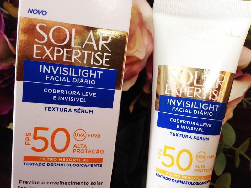 Protetor Solar L´Oréal Expertise Invisilight FPS 50 - Juro Valendo 771f880e0a