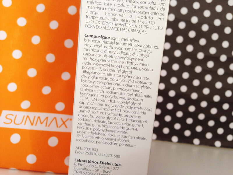 Protetor Solar SunMax Anti-Idade Pele Sensível FPS 30