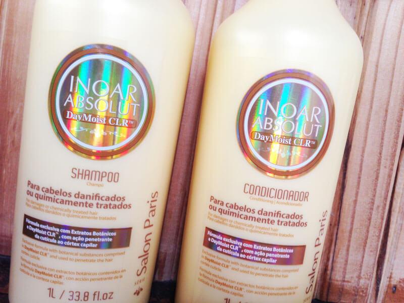 Shampoo e Condicionador Inoar Absolut Daymoist CLR